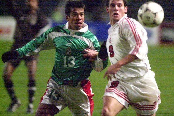 Para la edición del 2000, la Selección Mexicana no pasó de los cuartos d...