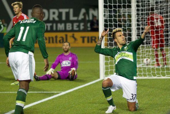 Portland Timbers logró su primer triunfo de la temporada al vencer 3-1 a...
