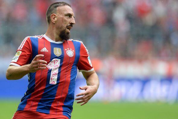 Ribéry fue uno de los deseos del multimillonario Roman Abramovich pues i...