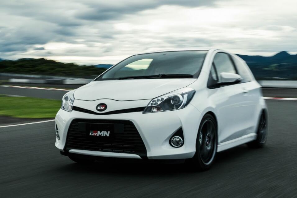Gazoo Racing presenta versión deportiva del Toyota Prius Toyota-Vitz-Tur...