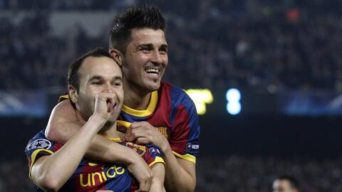 ¿Volverán a estar juntos Andrés Iniesta y David Villa en New York City FC?