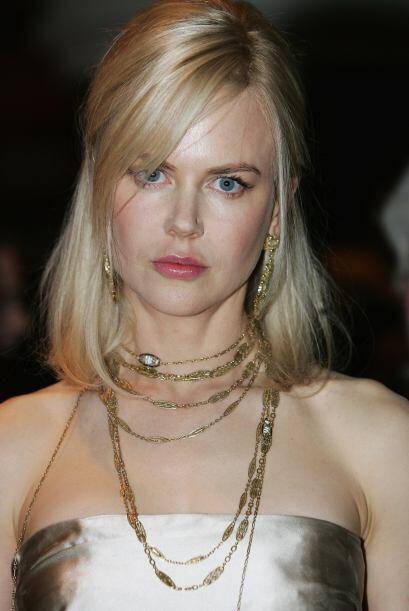 Esta era la Kidman que conocimos hace ya muchos años, su expresión era l...