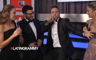 Mira cómo reaccionó Prince Royce al no ganar un premio en los Latin GRAM...