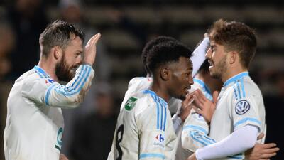 Olympique de Marsella ganó en Copa