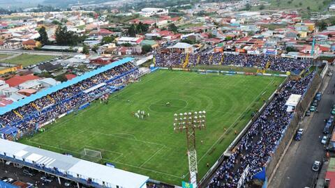 """El estadio José """"Fello"""" Meza, casa del Cartaginés"""