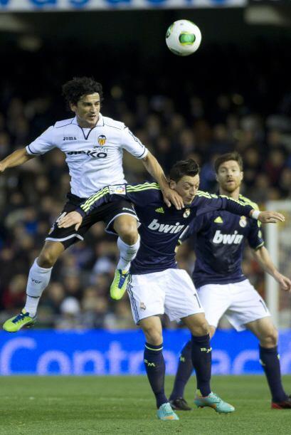 El Valencia luchó tras descontar el marcador al comienzo de la se...