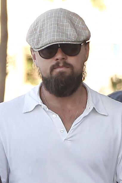 No crean que los cachetes de Leonardo DiCaprio son de verdad, simplement...