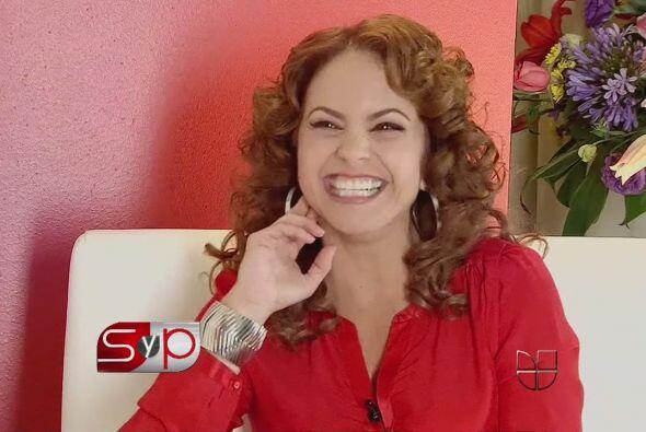 La actriz y cantante Lucero tuvo la oportunidad de asistir como invitada...