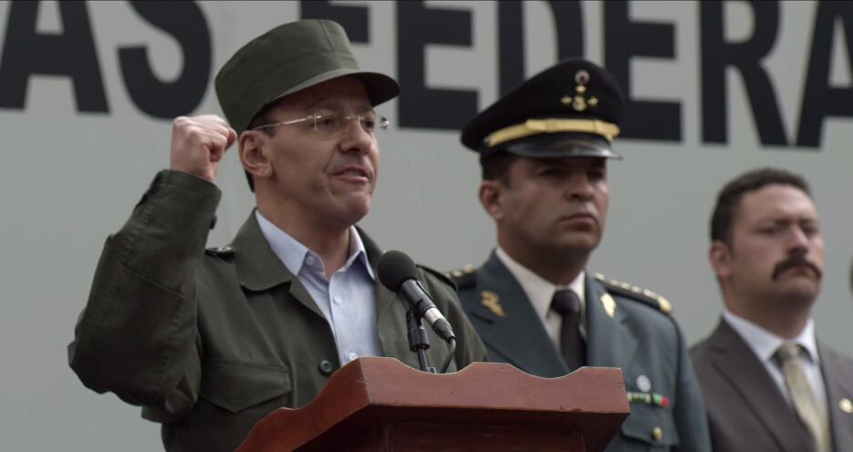 Felipe Alarcon en El Chapo