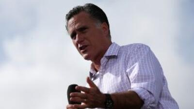El candidato republicano a la Presidencia de EEUU, Mitt Romney.