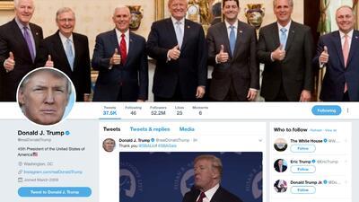 Una jueza federal dictamina que Trump no puede bloquear a nadie en Twitter