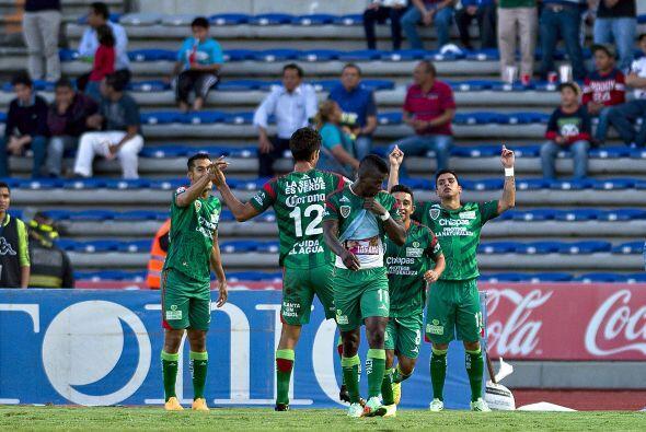 Chiapas que se encuentra en quinto lugar con 25 puntos, enfrentará en ca...