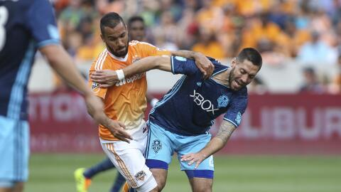 Seattle Sounders saca agónico empate ante Houston Dynamo