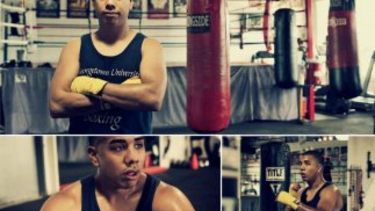 """Adan Gonzalez: """"I aspire to make my family proud, to make a difference i..."""