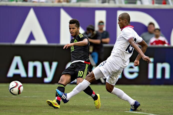 México vs. Costa Roca amistoso 2015