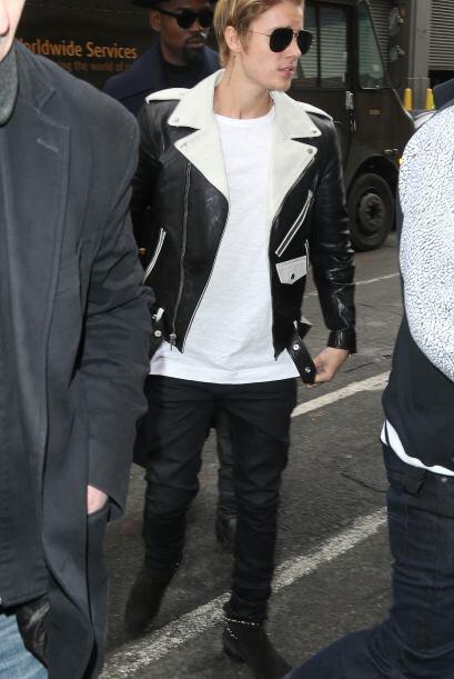 Justin Bieber fue uno de los invitados especiales a la presentación de l...