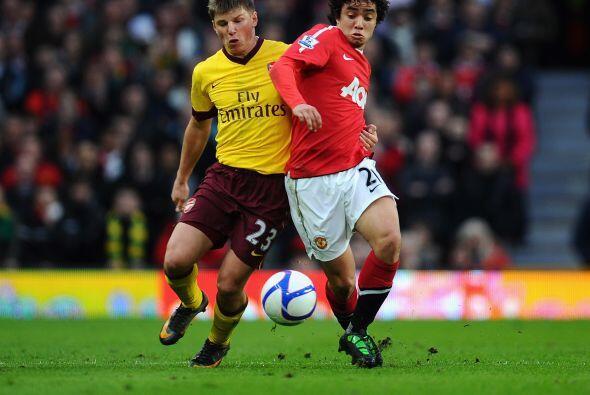 Los 'Red Devils' enfrentaron al Arsenal en la FA Cup y el 'garoto' jugó...