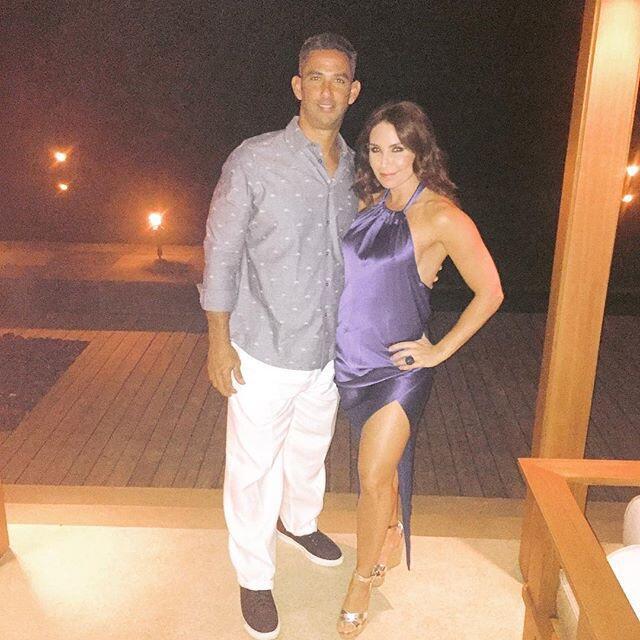 Laura Posada, esposa del ex receptor de los New York Yankees, Jorge Posa...