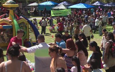 El Parque Grand Hope celebró su noveno festival de recolección de huevos...