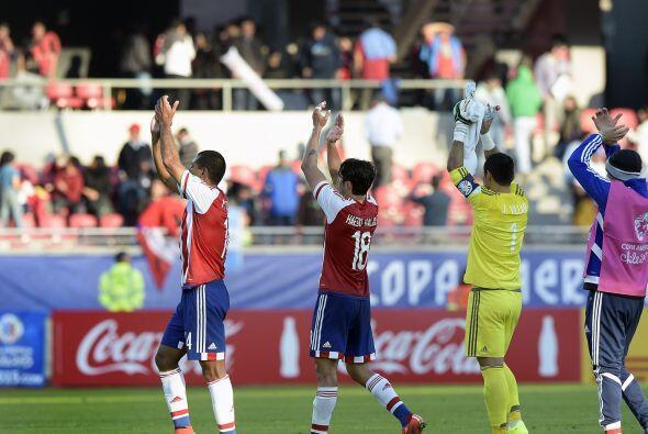 Pro al final los dos equipos salieron satisfechos con el empate.