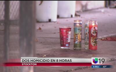 Fin de semana violento en Stockton