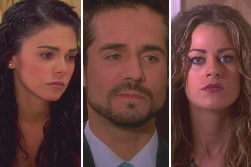 Fiorella, Pedro y Aitana
