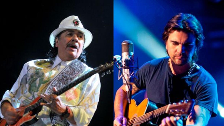Juanes y Carlos Santana juntarán sus guitarras para hacer 'rockear' el e...
