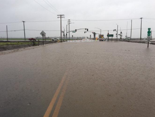 SR34/5th St closed in Camarillo