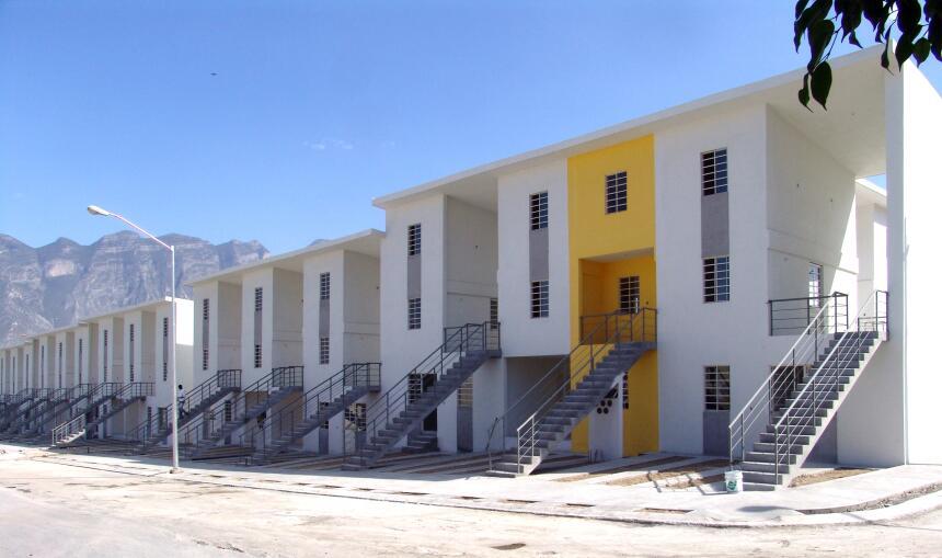 Complejo habitacional, Monterrey, México, 2010.