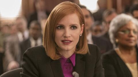 Jessica Chastain es 'Miss Sloane'