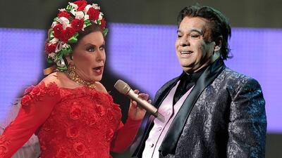 Laura Zapata tiene una razón para querer a los hijos de Juan Gabriel (y que le permitan cantar sus temas)