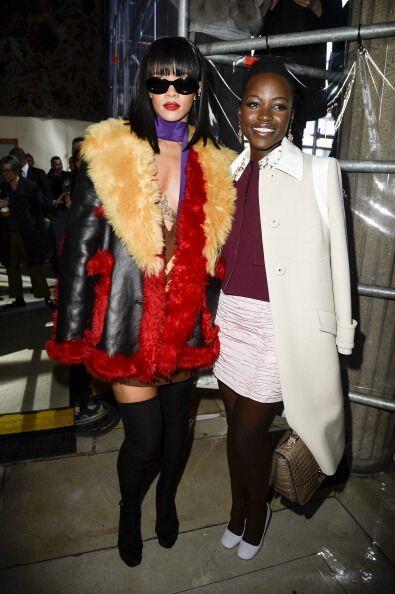 Rihanna también se encuentra entre las celebridades que admiran a esta m...