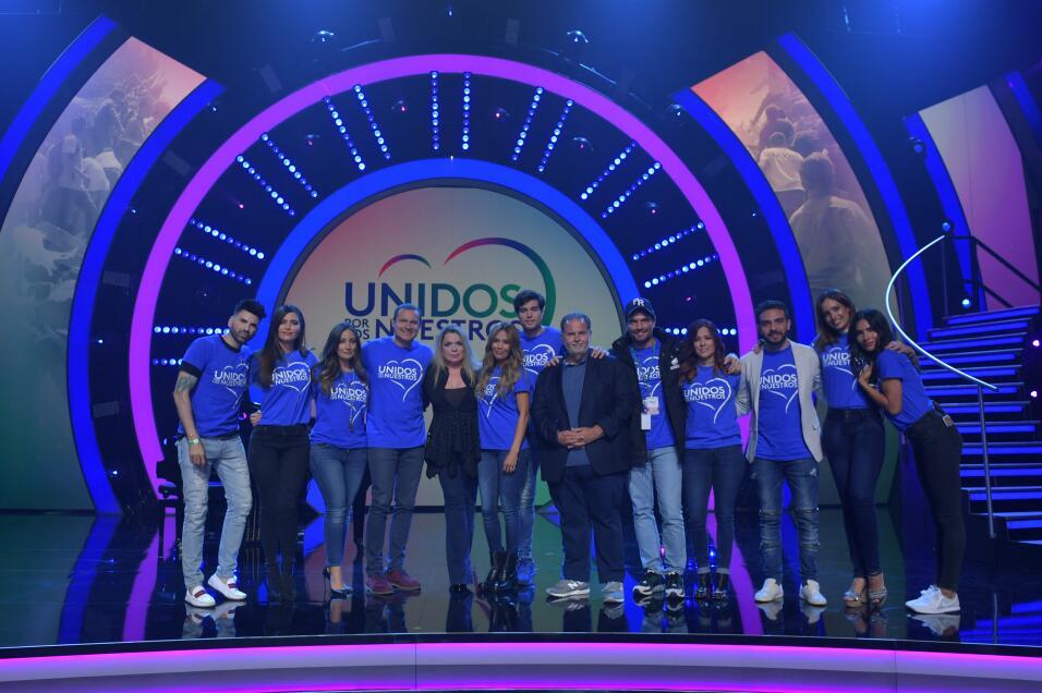 Los conductores de los programas de Univision no faltaron a 'Unidos por...
