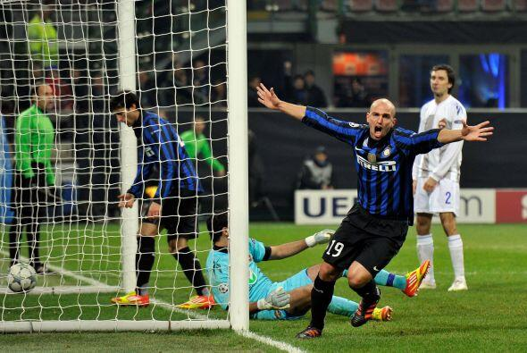 Los italianos se pusieron al frente gracias a la anotación de Esteban Ca...