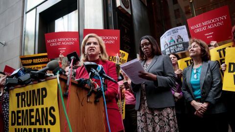 La congresista demócrata Carolyn Maloney sentenció frente...