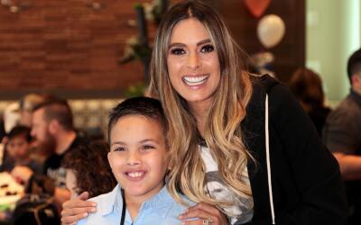 Galillea Montijo convive con familias del Teletón USA 2018