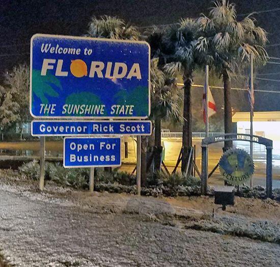Condado de North Escambia, Florida. Suena insólito asociar al estado de...
