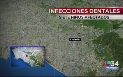 Siete niños sufren infecciones serias tras visitar al dentista en Anaheim
