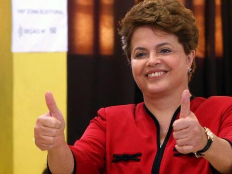 Dilma Rousseff, de 62 años, recién electa presidenta de Br...