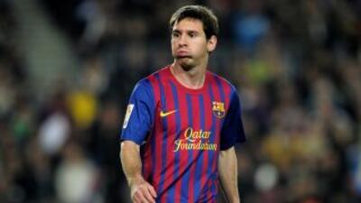 El astro del fútbol, Lionel Messi,