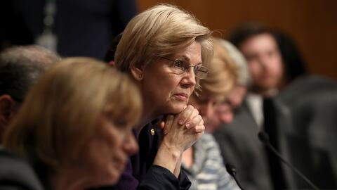 Republicanos silencian a senadora demócrata en un discurso contra la con...