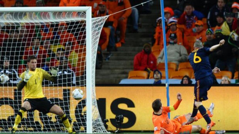 El momento cumbre para Andrés Iniesta probablemente siempre será su gol...