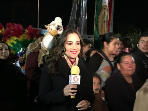 Mariana Atencio, Mañanitas a la Virgen de Guadalupe, Monterrey 2015