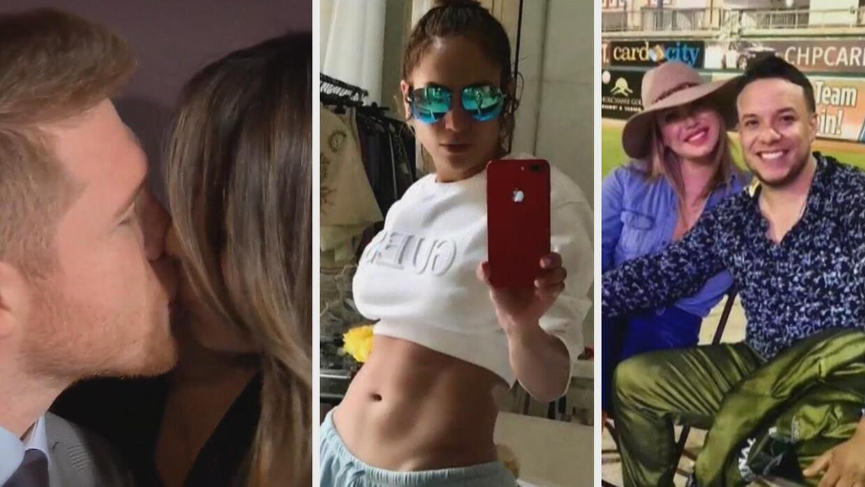Lo Mejor de la Semana, Canelo se besa con Shannon de Lima en público, Ra...