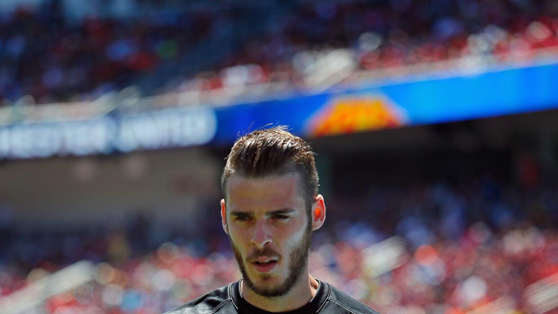 De Gea no jugará con el Man-Unted en la presentación ante el Tottenham