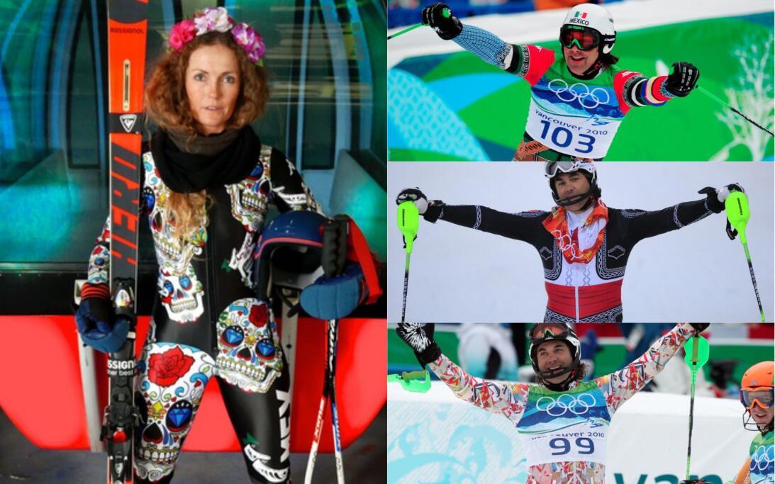 Uniformes extravagantes de México en los Olímpicos de Invierno uniformes...