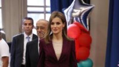 La reina Letizia de España se reunió con la cánciller de educación de Nu...