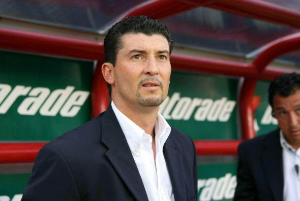 José Manuel de la Torre ha sido el único técnico campeón con Vergara, pe...