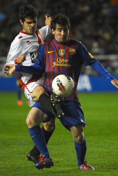 Messi iba tomando los hilos del juego barcelonista.