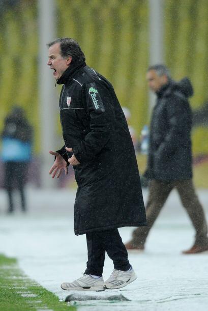 Marcelo Bielsa, entrenador del Bilbao, acabó más que molesto, pues sabe...